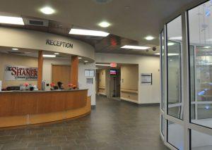 Cancer Pavillion Lobby