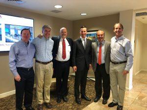 Arne Sorenson Visits Shaner Hotel Group