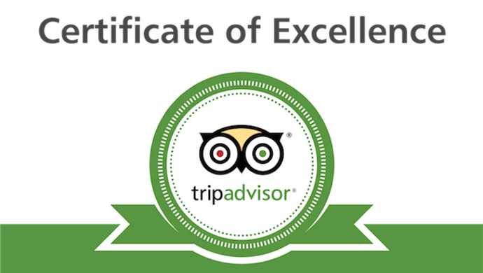 tripadvisor announces 2018 certificate of excellence award recipients